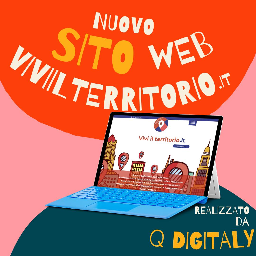 """Nuovo sito web """"Vivi il territorio"""""""